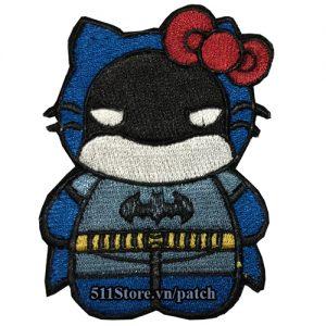 Patch Hello Kitty Batman