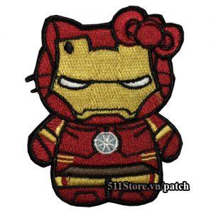 Patch Hello Kitty Iron Man