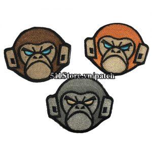 Patch Monkey Head
