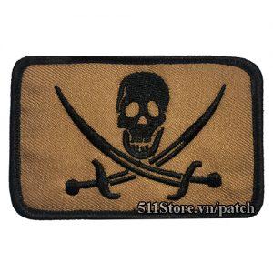 Patch Pirates Skull 7