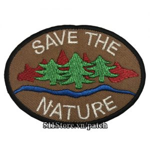 Patch Save The Nature