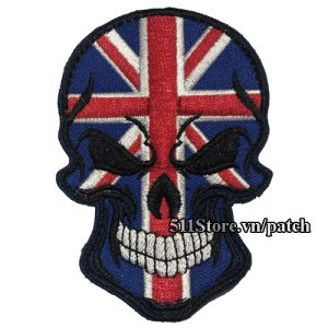 Patch Skull England