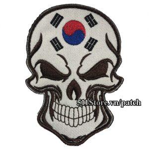 Patch Skull Korea