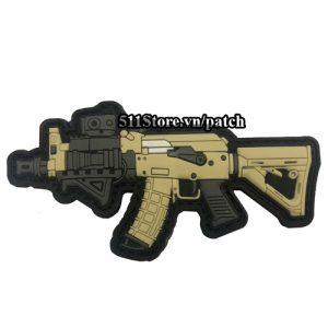 Patch Sung AK Custom PVC