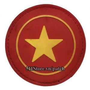 Patch co Viet Nam tron PVC