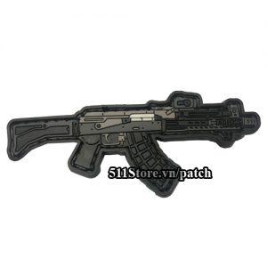 Patch sung AK74 PVC