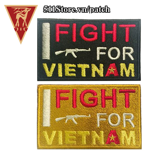 Patch I Fight For Viet Nam 2018